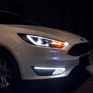 FORD FOCUS ST RS HEADLIGHTS DRL TAILLIGHTS XENON ANGEL EYES CAR TUNING EUROPE