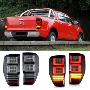 FORD RANGER HEADLIGHTS DRL TAILLIGHTS XENON ANGEL EYES CAR TUNING EUROPE