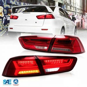 EVO X 10 MITSUBISHI HEADLIGHTS DRL TAILLIGHTS XENON ANGEL EYES CAR TUNING EUROPE