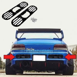 UNIVERSAL CAR SPOILER LIP SPOILER STREET BOYS CAR TUNING EUROPE (9)