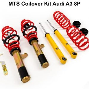 [MTS-TECHNIK] COILOVER KIT – ΡΥΘΜΙΖΟΜΕΝΗ ΑΝΑΡΤΗΣΗ ΚΑΘ'ΥΨΟΣ ΓΙΑ AUDI A3 S3 8P