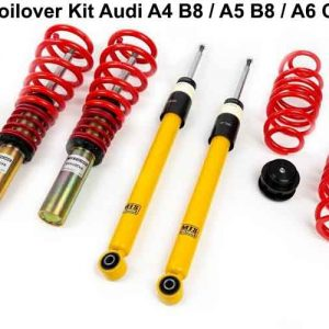 [MTS-TECHNIK] COILOVER KIT – ΡΥΘΜΙΖΟΜΕΝΗ ΑΝΑΡΤΗΣΗ ΚΑΘ'ΥΨΟΣ ΓΙΑ AUDI A4 B8 / A5 B8 / A6 C7 / A7