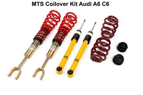 AUDI A6 C6 COILOVER KIT - ΡΥΘΜΙΖΟΜΕΝΗ ΑΝΑΡΤΗΣΗ ΚΑΘ'ΥΨΟΣ