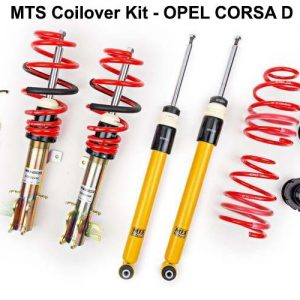 OPEL CORSA D [MTS-TECHNIK] COILOVER KIT – ΡΥΘΜΙΖΟΜΕΝΗ ΑΝΑΡΤΗΣΗ ΚΑΘ'ΥΨΟΣ