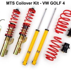 VW GOLF 4 [MTS-TECHNIK] COILOVER KIT – ΡΥΘΜΙΖΟΜΕΝΗ ΑΝΑΡΤΗΣΗ ΚΑΘ'ΥΨΟΣ