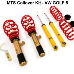 VW GOLF 5 [MTS-TECHNIK] COILOVER KIT – ΡΥΘΜΙΖΟΜΕΝΗ ΑΝΑΡΤΗΣΗ ΚΑΘ'ΥΨΟΣ