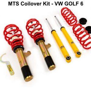 VW GOLF 6 [MTS-TECHNIK] COILOVER KIT – ΡΥΘΜΙΖΟΜΕΝΗ ΑΝΑΡΤΗΣΗ ΚΑΘ'ΥΨΟΣ