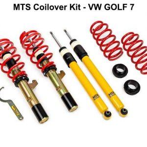 VW GOLF 7 [MTS-TECHNIK] COILOVER KIT – ΡΥΘΜΙΖΟΜΕΝΗ ΑΝΑΡΤΗΣΗ ΚΑΘ'ΥΨΟΣ